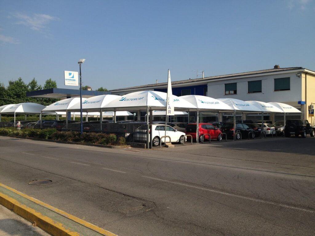 Esterni Casalbuttano : Linea parking esterni arredi pergole gazebi cremona